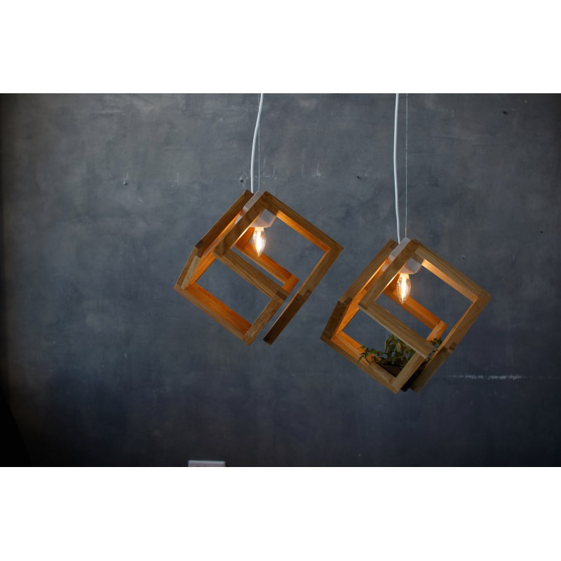 Светильник-флорариум Cubirint