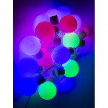 """Гирлянда """"Пастель"""" с крупными шарами"""