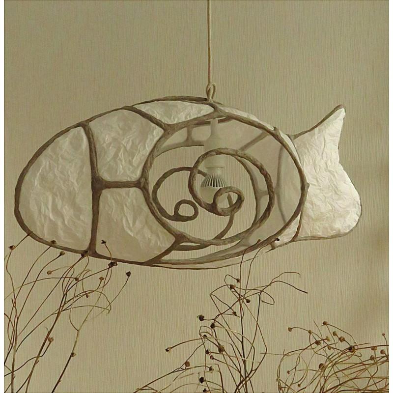 """Подвесной светильник """"Spiral Fish"""""""