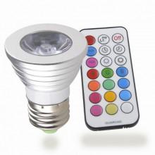 Светодиодная RGB лампа с пультом