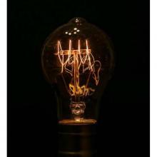 Ретро лампа в форме груши